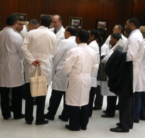 Doctors at the General Assembly. By Waldo Jaquith: http://www.flickr.com/photos/waldoj/97187153/