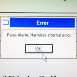 False alarm error.