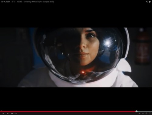 """Rocket Astronaut"" video"