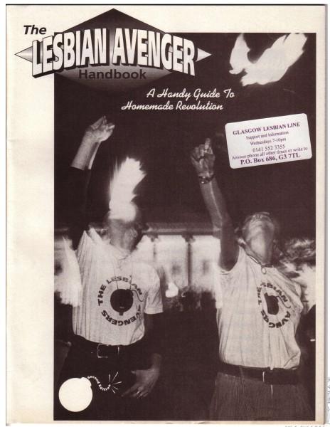 http://en.wikipedia.org/wiki/File:Lesbian_avengers_handbook_cover.jpg