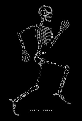 Skeleton Typogram. By Aaron Kuehn: http://aarline.info/hotaar/?p=667